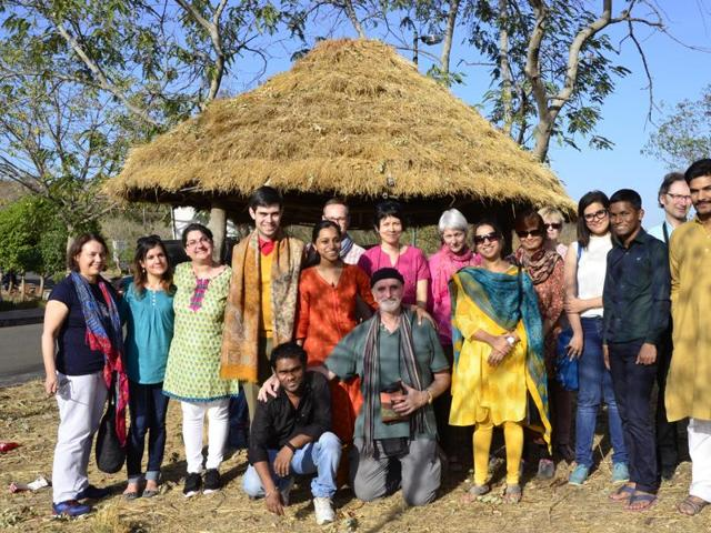 French students in Bhopal,French scholars learn Hindi,Francois