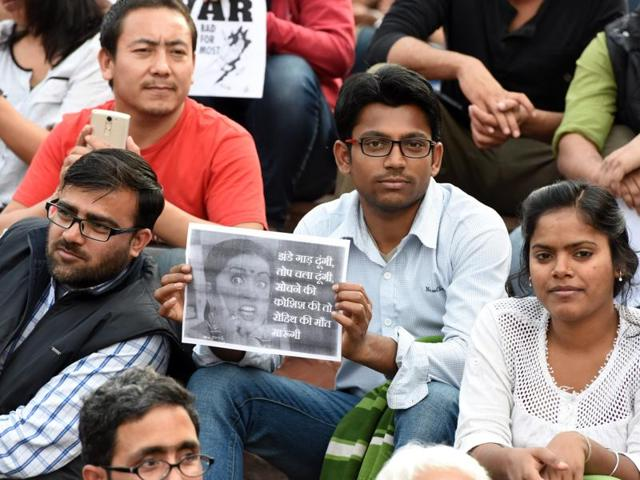 Threats for foreign academics supporting JNU protests