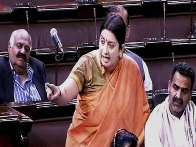 Smriti Irani,Mayawati,Rajya Sabha