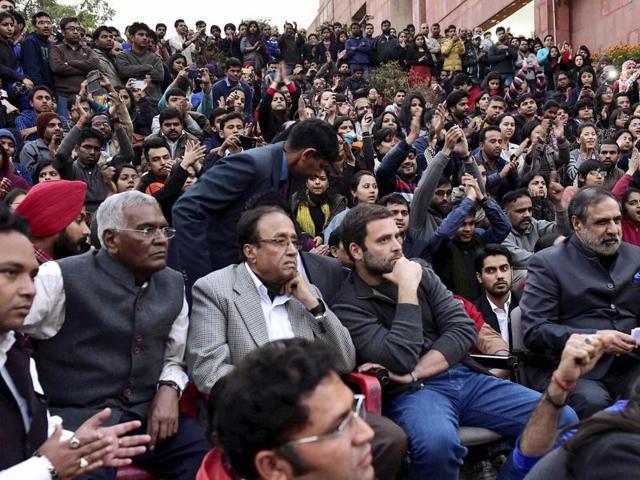 JNU row: Sedition case slapped on Rahul, Kejriwal, Yechury