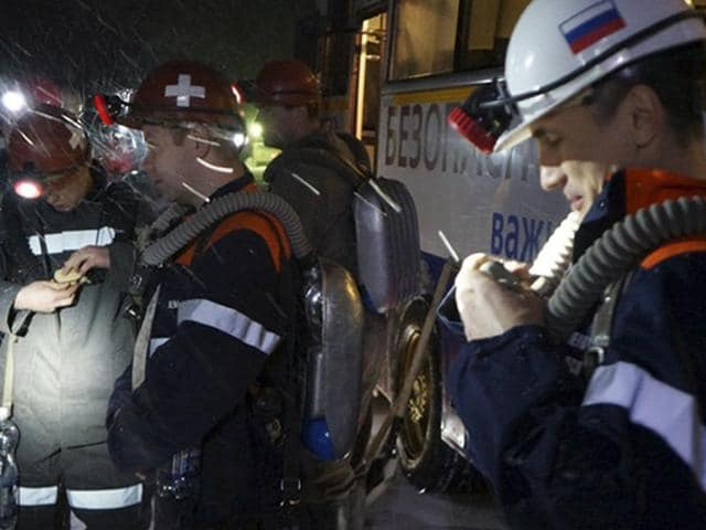 Russian officials say a total of 36 people are believed to have died at a coal mine where a methane gas leak triggered three explosions and the collapse of the mine.