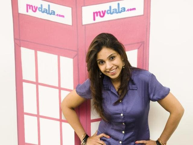 Anisha Singh, founder of online deals website Mydala.com.  Singh is one of many women founders  who are breaking down gender stereotypes and shackles in India.