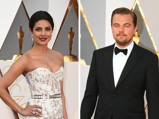 Priyanka Chopra has won the red carpet at Oscars 2016. But the real glory belonged to six-time nominee Leonardo DiCaprio who took home that much-awaited Best Actor award.(AFP)