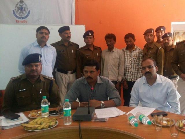 Nandi Rajput and Harisingh Yadav were arrested by the Chhattarpur police on Sunday.