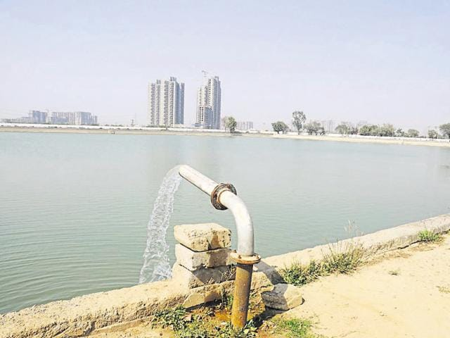 The raw water supply to the water treatment plant at Basai is still less than half the normal supply and authorities are in the process of creating buffer stock.