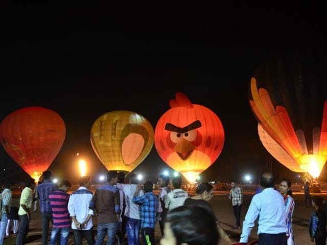 International Balloon Festival,Bhopal,Madhya Pradesh