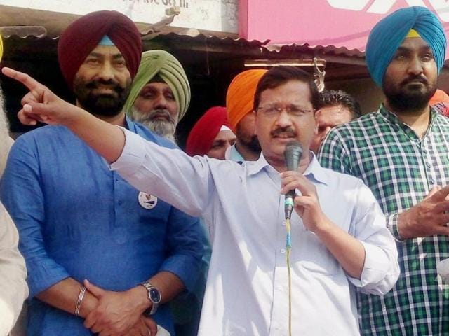 """Our soldiers are being martyred everyday on the border. And Modi ji is saving the anti-national elements to form government in Kashmir,"" Kejriwal said."