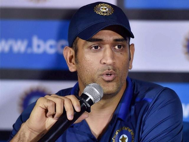 Indian captain MS Dhoni was critical of the seaming wickets in Bangladesh during the Asia Cup.(PTI Photo)