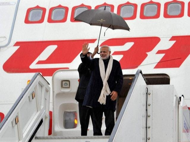 Prime Minister Narendra Modi's calender of foreign trips starts in March this year with Saudi Arabia, Brussels and the United States.(PTI File Photo)