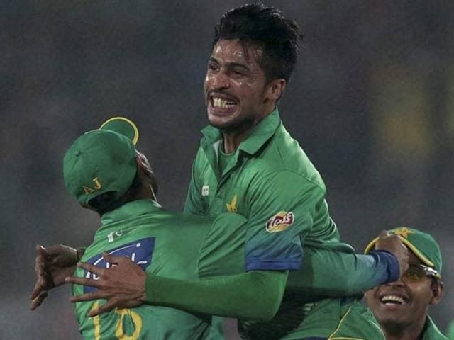 Against India, Mohammad Amir took three wickets for 18 runs, reducing Dhoni's men to 8/3 in the third over.