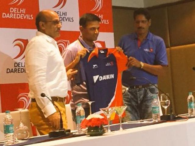 Rahul Dravid to mentor Delhi Daredevils in IPL2016