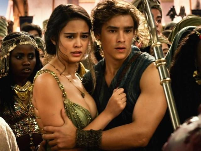The expression most audiences had while watching Gods of Egypt.