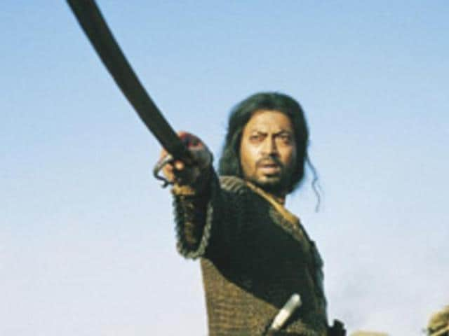 Irrfan Khan in a still from The Warrior.