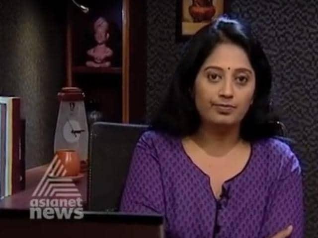 Kerala TV anchor,Sindhu Suryakumar,Asianet TV