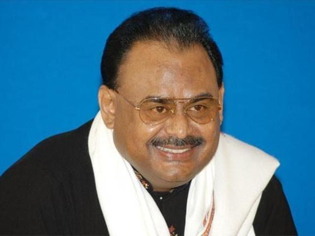 Muttahida Qaumi Movement chief Altaf Hussain.