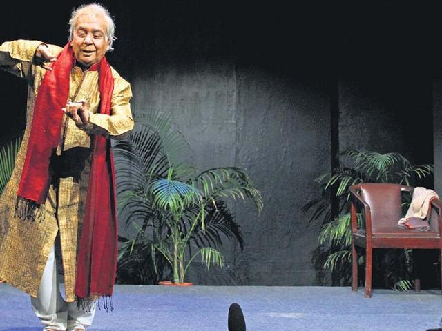 Pt Birju Maharaj is active even at 77. (HT)