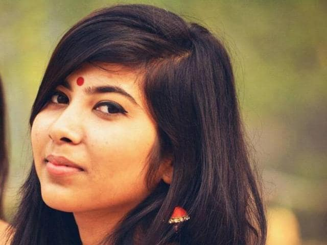 A photo of Sataparna Mukherjee. The 18-year-old is one of five to have been selected for the prestigious scholarship.