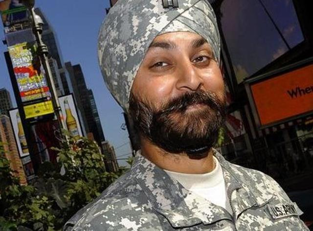 Sikh soldiers in US army