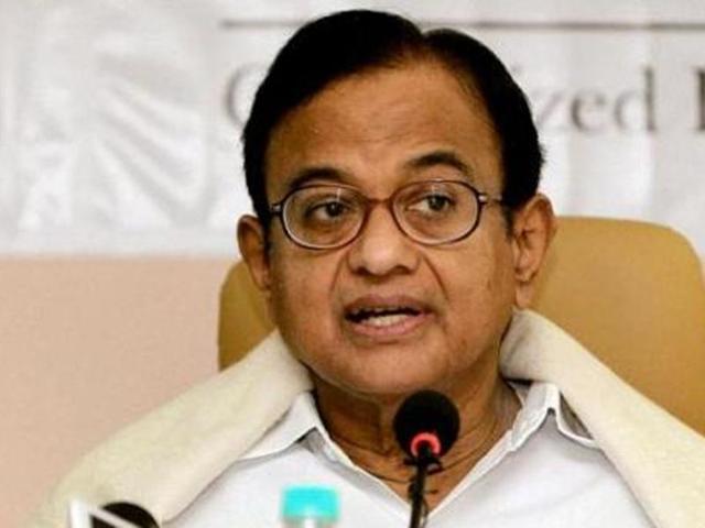 GK Pillai equally responsible for Ishrat affidavit change: Chidambaram