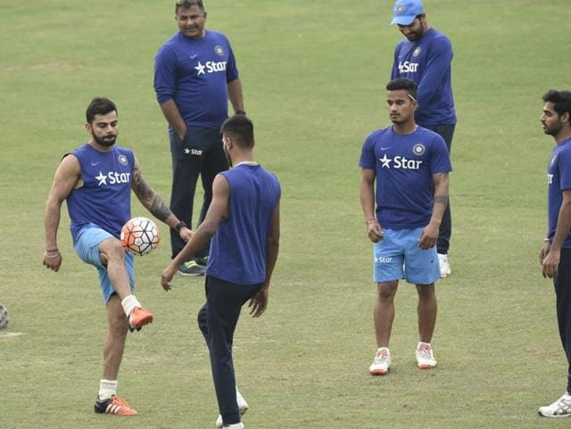 India's Shikhar Dhawan was forced to sit out the match against Pakistan on Saturday due to a strain to his left ankle, but could return against Sri Lanka on Tuesday.