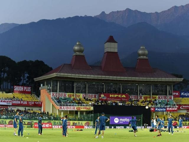File photo of HPCA stadium in Dharamsala.