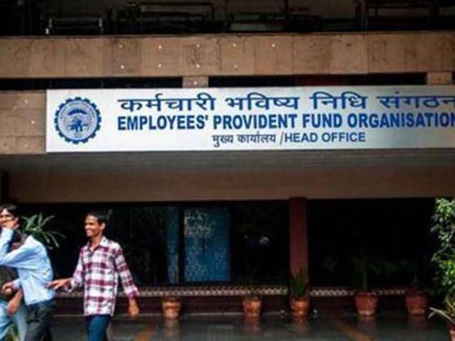 Employees' Provident Fund Organisation. HT Photo