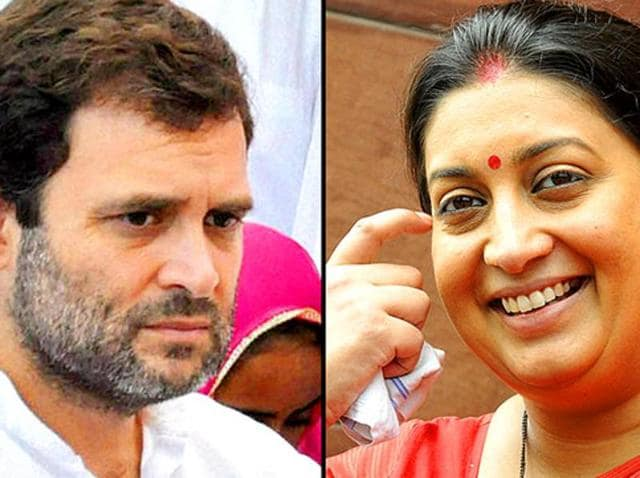 Smriti Irani might defend her position in the wake of a series of privilege motions against her.