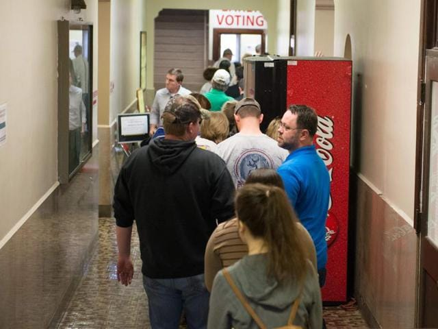 (Representative image) Democratic Party supporters in New Zealand could boast about being the first in the world to cast ballots in 'Super Tuesday'  — and in a bar, no less.