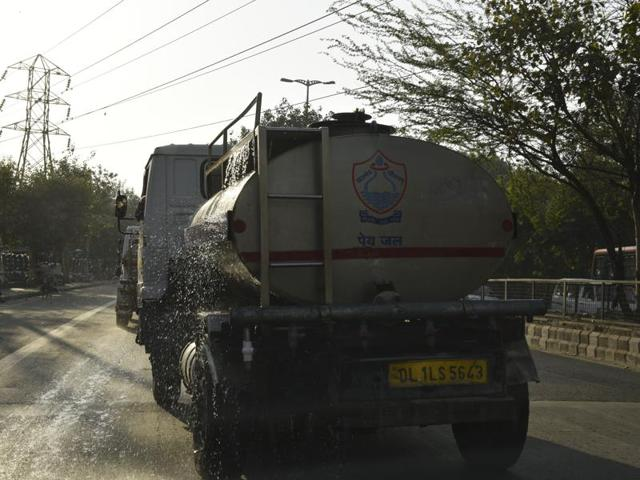 Water tankers of the Delhi Jal Board have been pressed into service after several areas did not get water supply because of the damage to the Munak Canal and high ammonia contamination in the water received through the Yamuna channel.