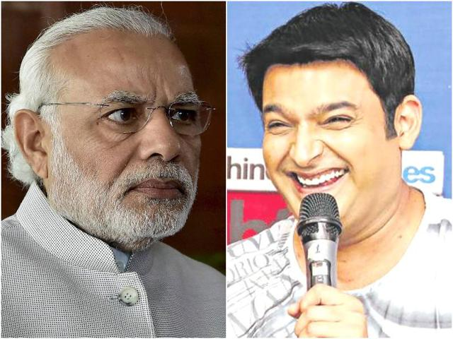 Kapil Sharma,Narendra Modi,The Kapil Sharma Show