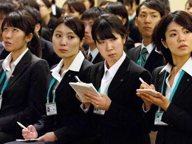 Japan working women