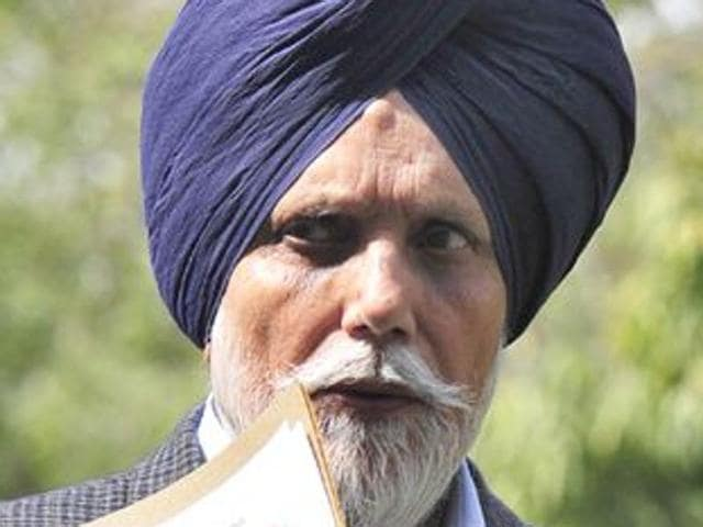 Punjab's public works department (PWD) minister Janmeja Singh Sekhon.