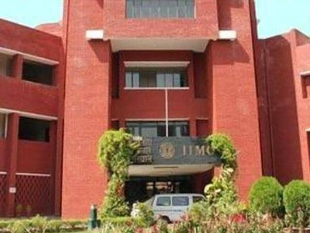 """A student at the Indian Institute of Mass Communication has been  suspended for a week from the hostel for using """"offensive and unparliamentary language"""" against a faculty member"""
