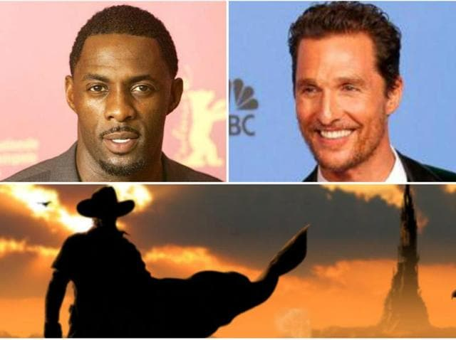 Racial barriers have been broken. Idris Elba and Matthew McConaughey will star in Stephen King's The Dark Tower.
