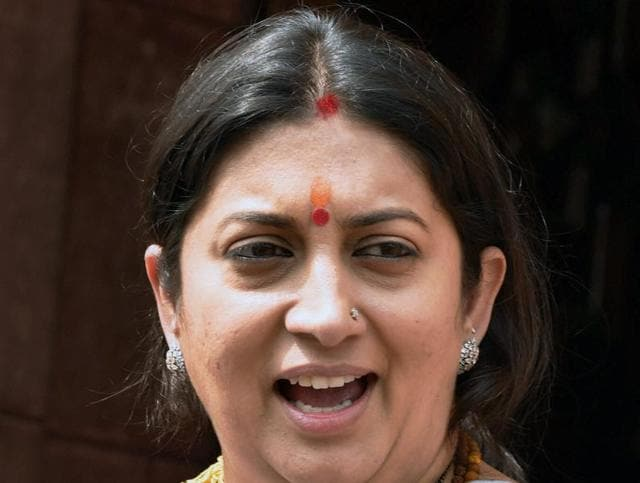 HRD Minister Smriti Irani was again in the line of fire in Lok Sabha with opposition members forcing Speaker Sumitra Mahajan to allow them to speak on their notice for Privilege Motion against the minister.