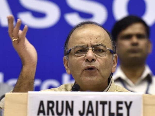 Finance Minister Arun Jaitley speaks about his Budget on March 2.
