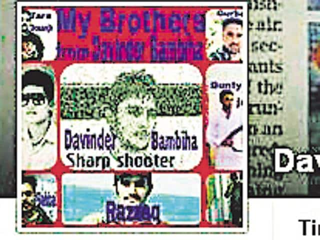 On-the-run sharpshooter Davinder Bambiha, key accused in the murder of sarpanch Ravi Khwajke, is still active on Facebook, blatantly projecting the murder as his 'achievement'.