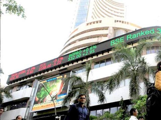 Sensex jumps 464 points post RBI move to close at 24,243, banks shine