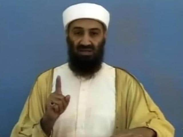 Osama bin Laden in a video released by the US Pentagon on May 7, 2011.