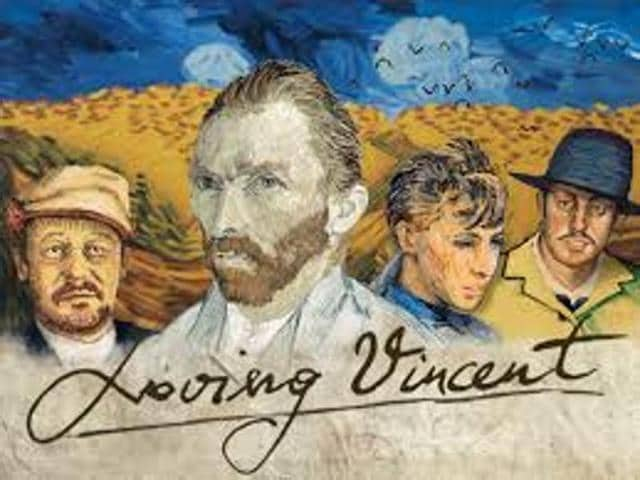 Vincent Van Gogh,Loving Vincent,World's first fully painted film