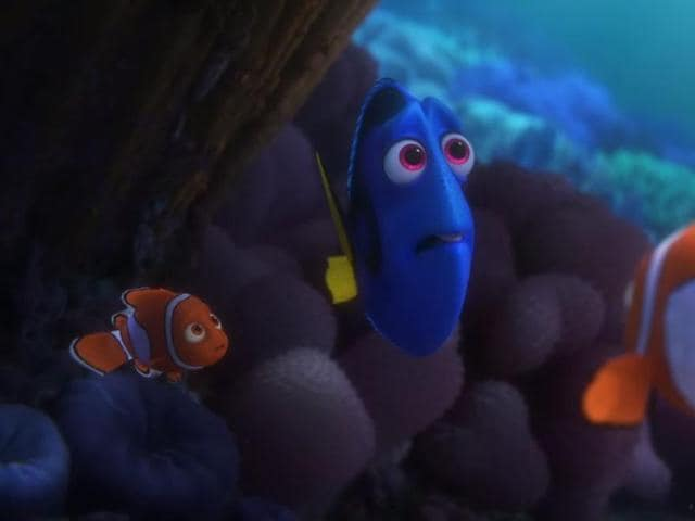 Like Nemo, she will try to find her way back home to her friends Nemo and his dad.
