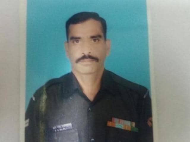 Ram Swaroop had participated in the Army's deployment in restoring law and order in Panipat and Hisar districts in Haryana during the recent Jat stir and had recently returned to his unit.