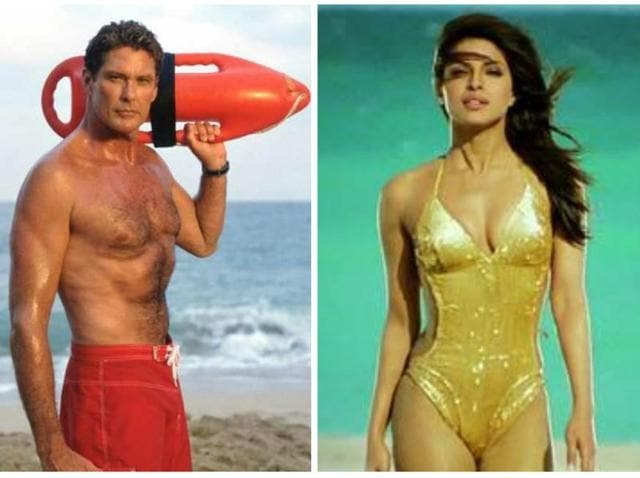 The Rock and The Hoff will both star opposite Priyanka Chopra in Baywatch.