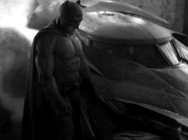Ben Affleck as Batman in the upcoming Batman v Superman: Dawn of Justice.