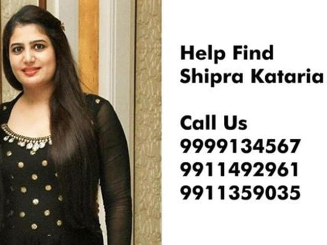 The Noida police registered a kidnapping case and formed five teams to search for 29-yearold Shipra Kataria Malik, who had gone to Chandni Chowk on Monday afternoon to buy raw material.