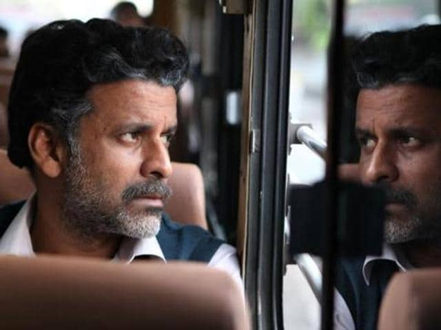 Manoj Bajpayee in Aligarh.