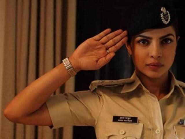 Priyanka plays IPS Abha Mathur in Jai Gangaajal. (YouTube)