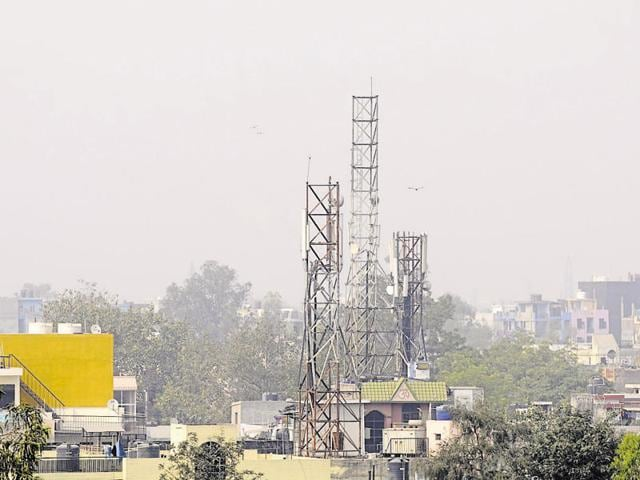 Around 50 applications from different telecommunication firms seeking space to install new towers are pending with the Noida authority.