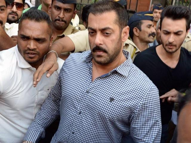 """Salman Khan and his co-stars from the film """"Hum Saath Saath Hain"""" have been accused of hunting three chinkaras and a blackbuck while shooting near Kankani  in 1998."""