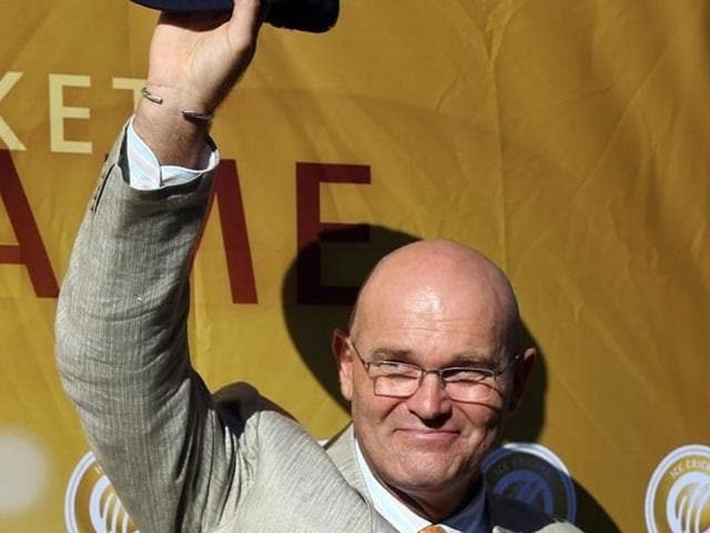 File photo of f ormer New Zealand cricketer Martin Crowe who died on Thursday, March 3, 2016 at the age of 53.
